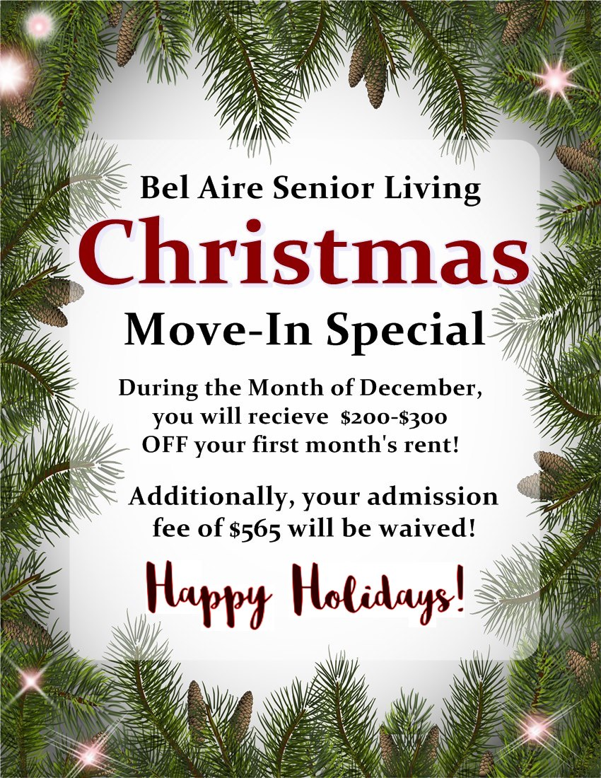 Christmas Move-In Special