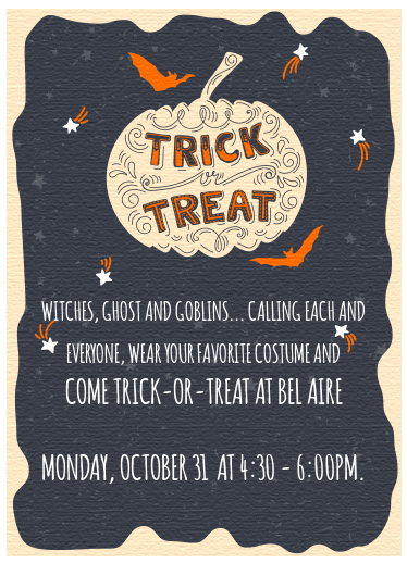 Bel Aire Trick-Or-Treat!