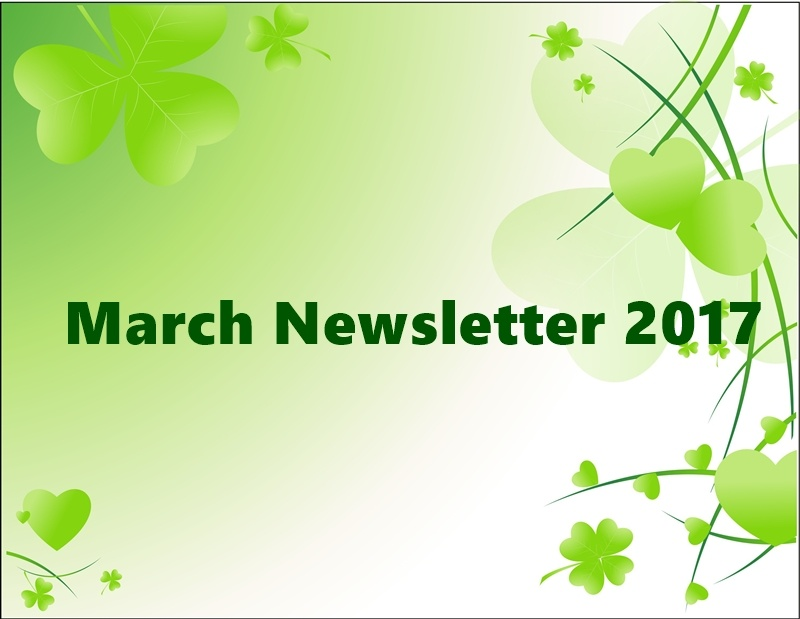 March Newsletter 2017
