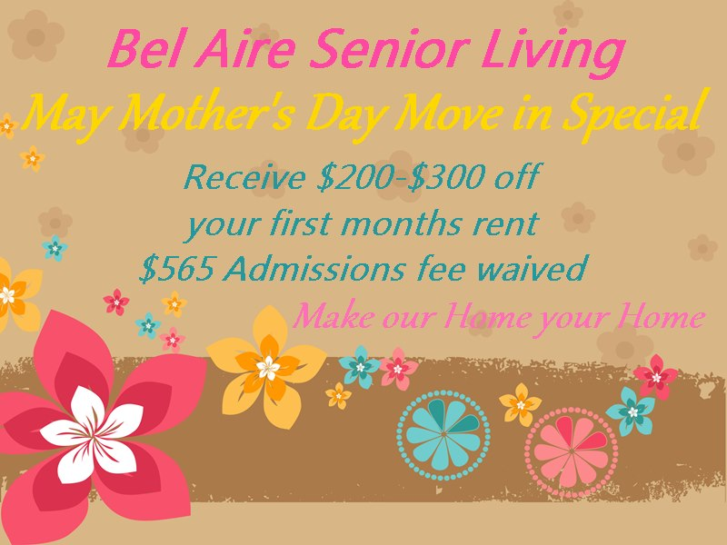 May Mother's Day Move In Special