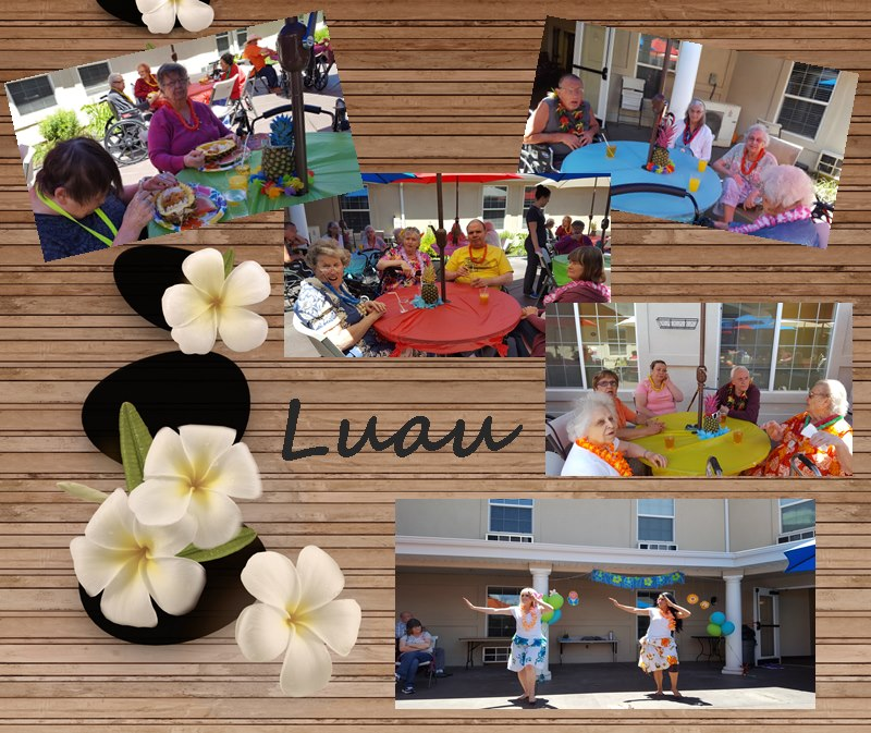 Father's Day Luau
