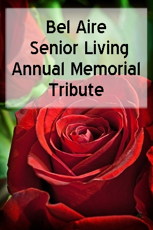 ANNUAL MEMORIAL TRIBUTE