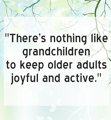 There's nothing like grandchildren Quote