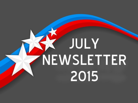 JULY NEWSLETTER 2015
