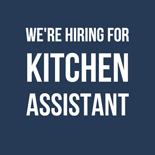 Kitchen Assistant Ad