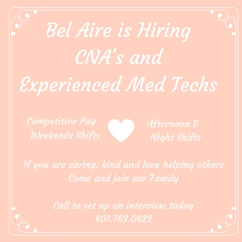 Come work for us!!