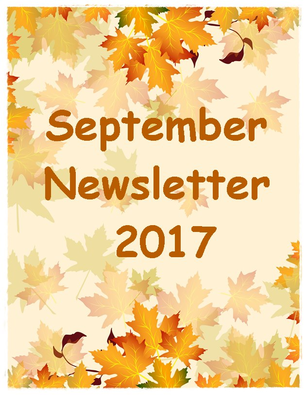 September Newsletter 2017