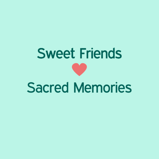 Thank You Sweet Friends